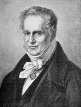 Portrait Of Friedrich Wilhelm Heinrich Alexander Von Humboldt Prussian Geographer, Naturalist, Explorer And Exponent Of Romanticism Founder Of Biogeography