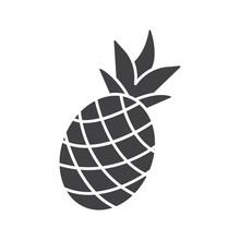 Pineapple Glyph Icon