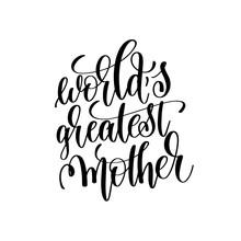 "World""s Greatest Mother Black"