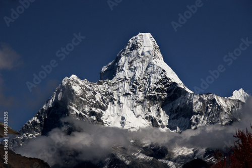 Photo  Chardham Trek Norther India Bhagirathi Peaks Mana Village Badrinath Ganges Bhojv