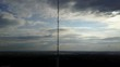 Radio tower Ulbroka Latvia Aerial drone top view 4K UHD video