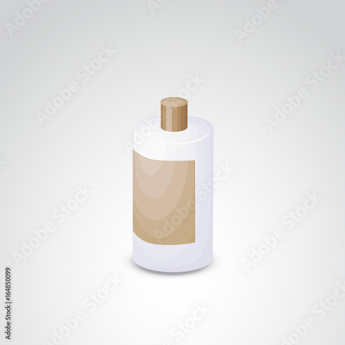 Photo  Shampoo vector icon.