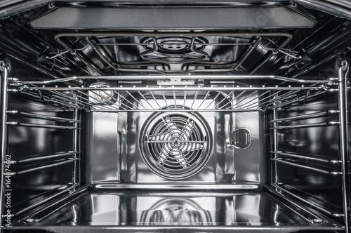Fototapeta Inside of electric stove oven obraz