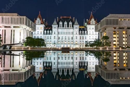 Fotografie, Obraz  New York State Capitol Building