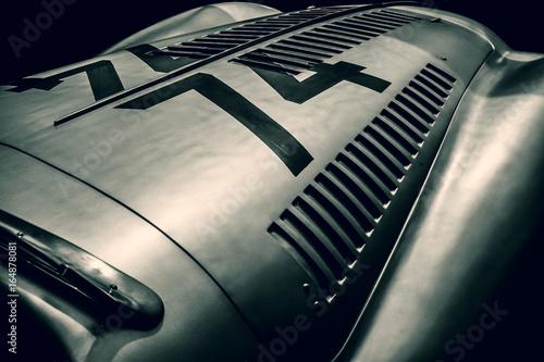 Garden Poster Vintage cars vintage car top view
