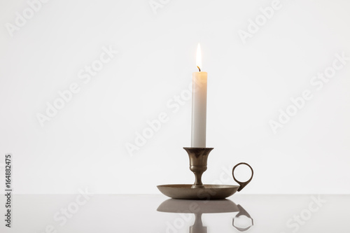 Foto Candle burning bright