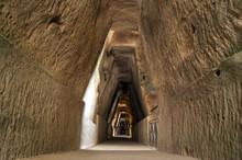 Antro Della Sibilla, Cave Of The Sibyl, Cumae, Bacoli.