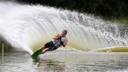 Fényképezés slalom waterskier