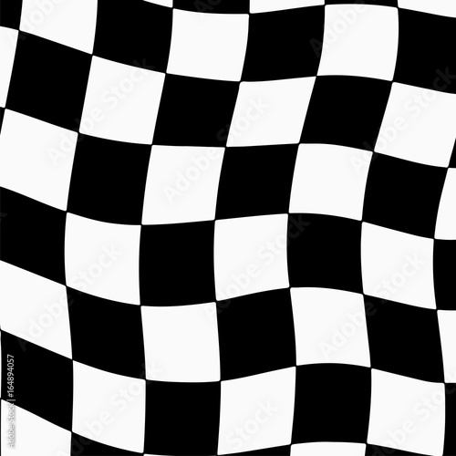 Keuken foto achterwand F1 Racing background with checkered flag abstract illustration