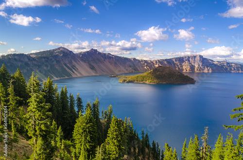 Foto op Plexiglas Landschappen Crater Lake in summer, Oregon