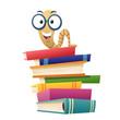 canvas print picture - Devour books