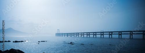 Fotomural  dalian bay bridge panorama