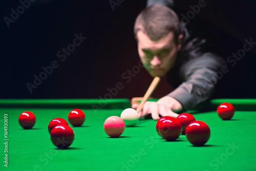 Fototapeta Snooker