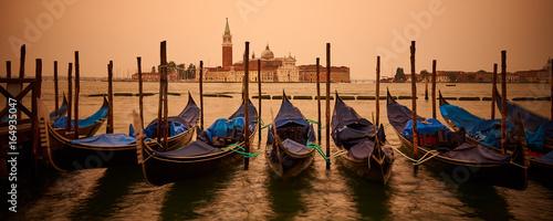 Poster Gondolas The Church of San Giorgio Maggiore