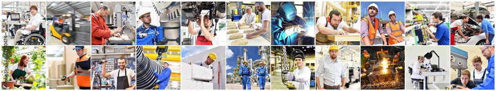 Fototapety, obrazy: Berufe im Handwerk, Industrie & Dienstleistungssektor