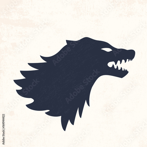 Photo Wolf head. Vector illustrations