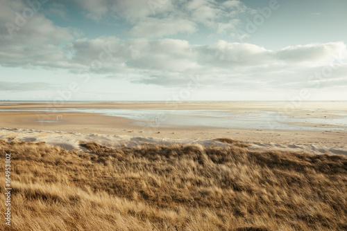Landschaft auf der Insel Amrum, Deutschland