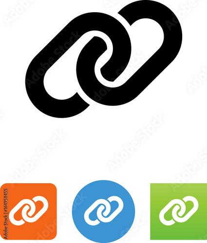 Fotografia  Chain Link Icon - Illustration