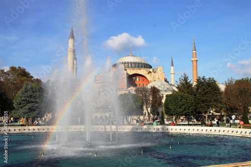 Plakat Hagia Sophia - Stambuł - Turcja