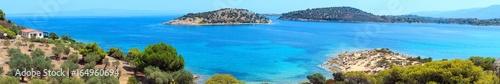 Cadres-photo bureau Cote Lagonisi Beach, Sithonia, Chalkidiki.