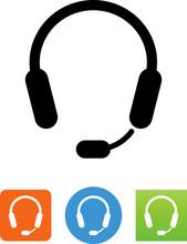 CSR Headset Icon - Illustration