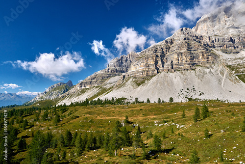 Madonna di Campiglio (Tn), Italy,Northern & Central Brenta mountain groups with Canvas Print