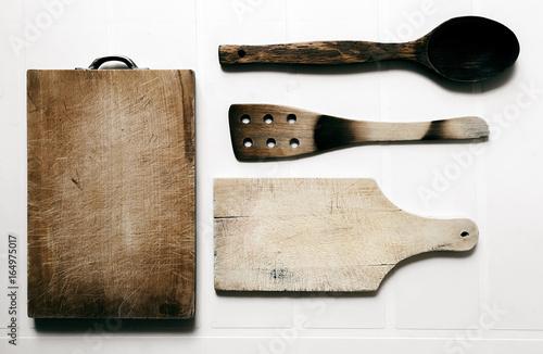 Accessori da cucina in legno buy this stock photo and explore