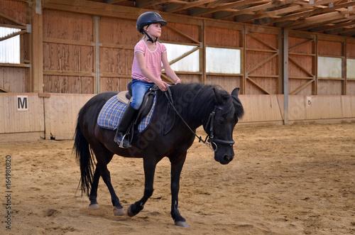 Deurstickers Paardensport Reiten