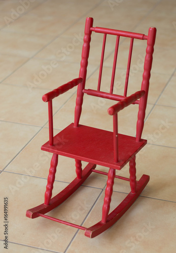 Empty rocking chair & Empty rocking chair - Buy this stock photo and explore similar ...