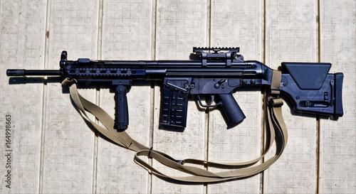 Fotografie, Obraz  Rifle - Military, Assault Weapon