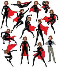 Super Heroine Set / Super Hero...