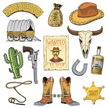 Wild West, Rodeo Show, Cowboy ...