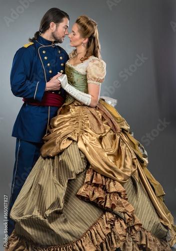 Fotografie, Tablou  Civil war Couple
