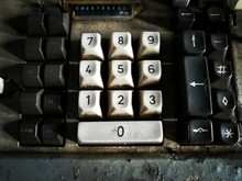 Number Keyboard. Picture In Re...