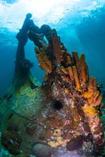 An Upside Down Ship Wreck
