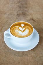 Heart In Cappuccino