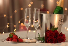 Romantic Composition With Cham...