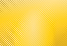 Yellow Background With Stripe Pattern, Vector