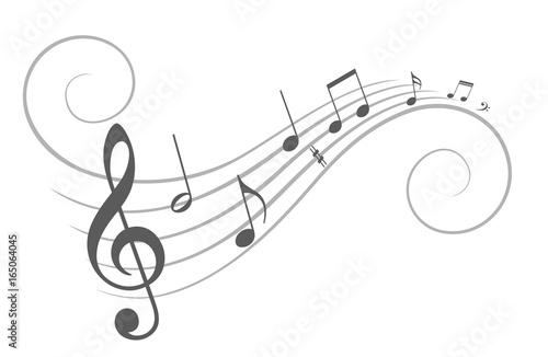 Music notes.  © designer_an