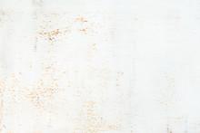 White Rusty Metal Texture