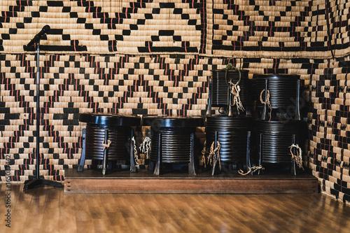 Handmade Basket, The Ainu Culture Canvas Print