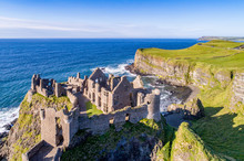 Ruins Of Medieval Dunluce Cast...