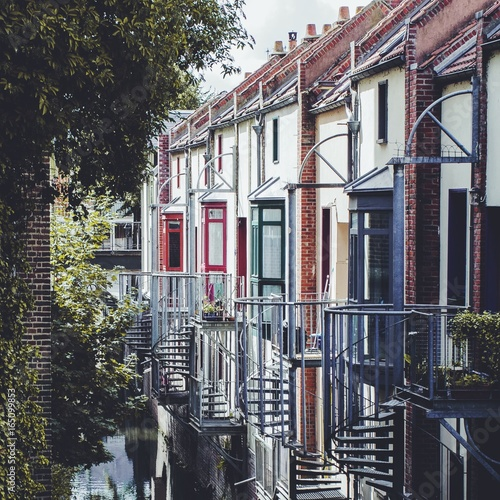Photo Stands New York Little houses in Amiens