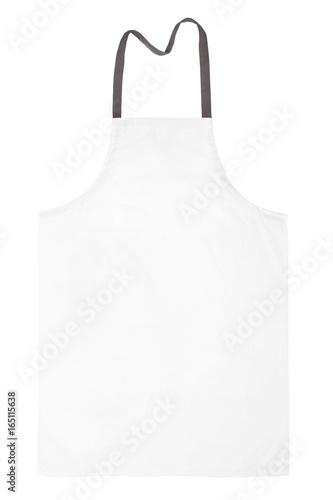 Fototapety, obrazy: White bib isolated on white background