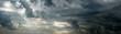 Leinwandbild Motiv Wolkenpanorama