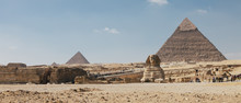 The Sphinx And The Great Pyram...
