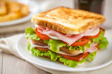 Toasted Club Sandwich