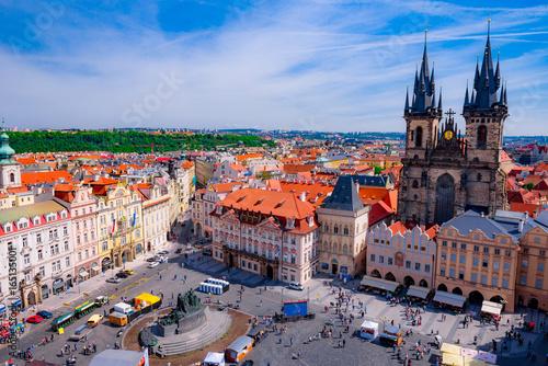 Photo Stands Prague プラハ広場