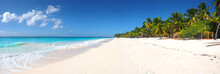 Isla Saona Tropical Beach Pano...