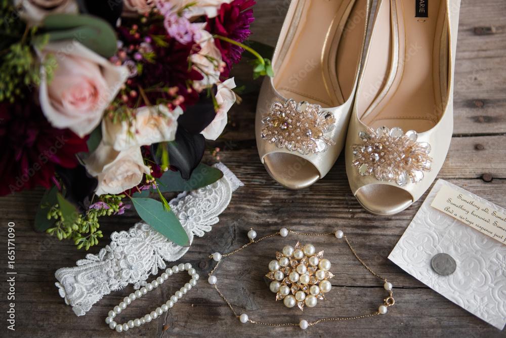 Fototapety, obrazy: wedding details